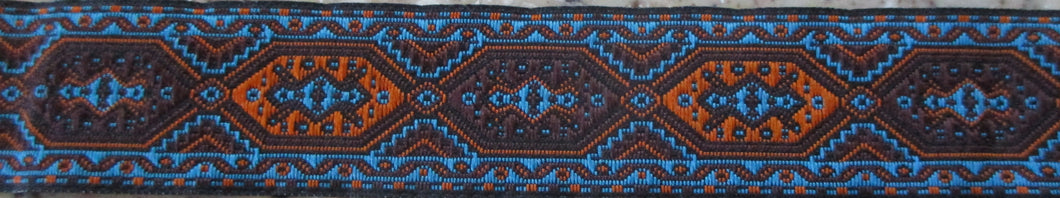 Renaissance...Blue and Orange 1 Inch