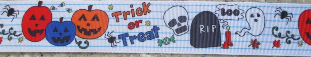 Trick or Treat 1 Inch
