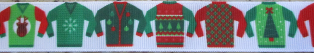 Ugly Holiday Sweaters 1 Inch