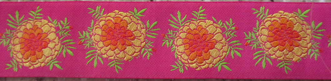 Marigolds...on Pink