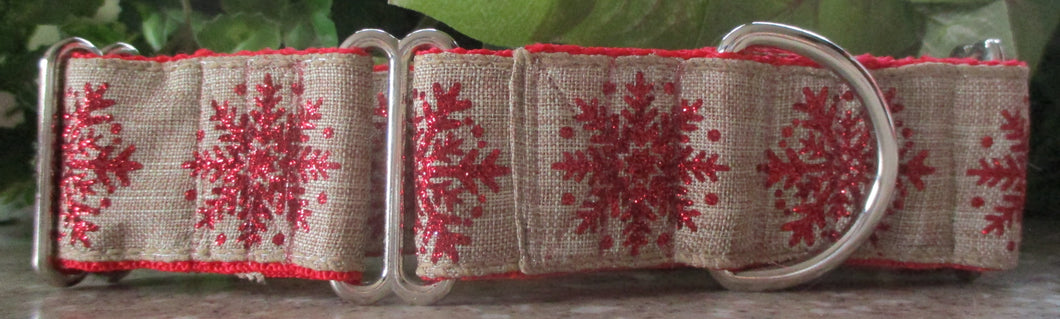 Snowflakes...on Burlap