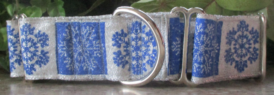 Snowflakes...Silver and Blue
