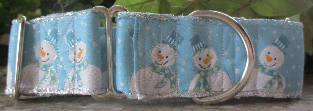 Snowmen...on Light Blue