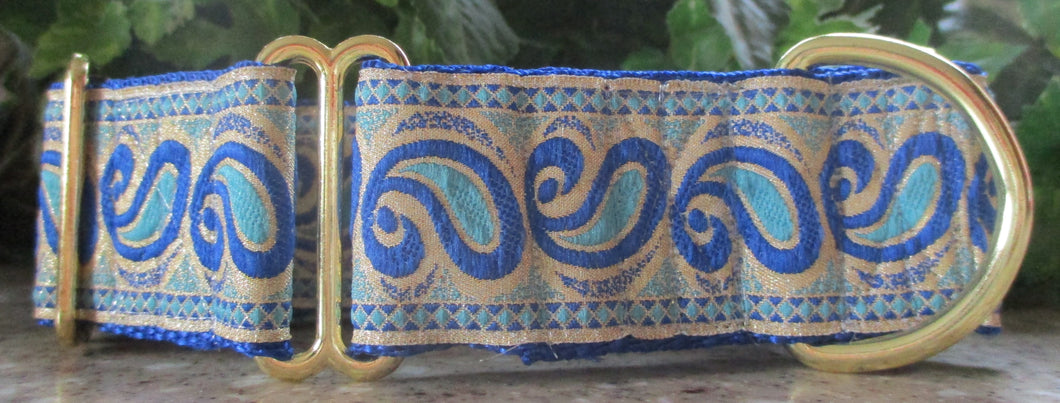 Paisley...Blues on Gold