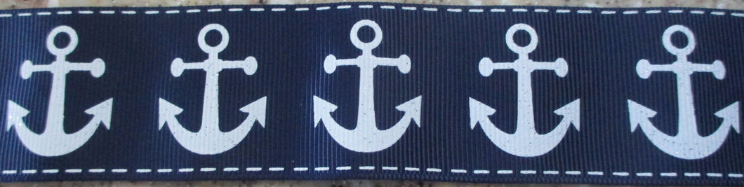 Anchors...on Dark Blue