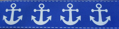 Anchors...on Medium Blue