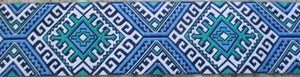 Aztec...Blue and Turquoise