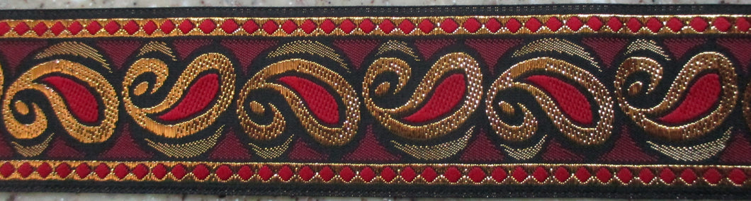 Paisley...Red