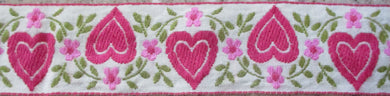 Hearts...Alternating Pink