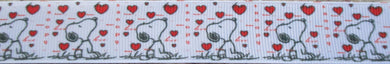 Hearts...and Snoopy 1 Inch
