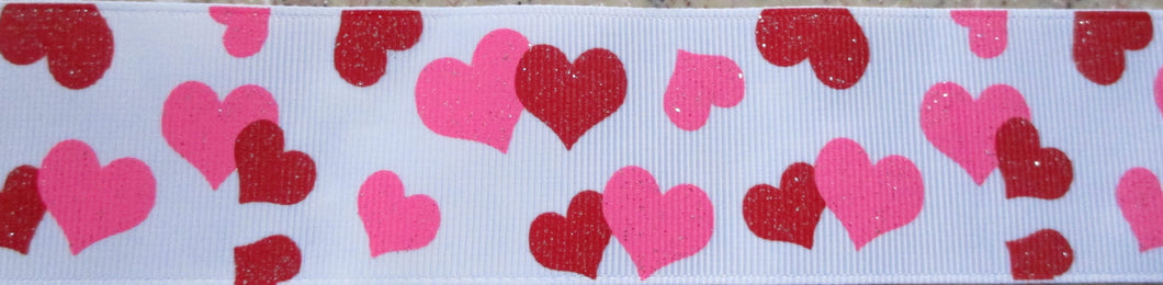Hearts...Glitter Red and Pink #2