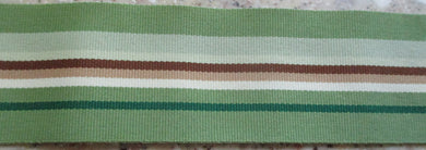 Stripes...Greens and Brown