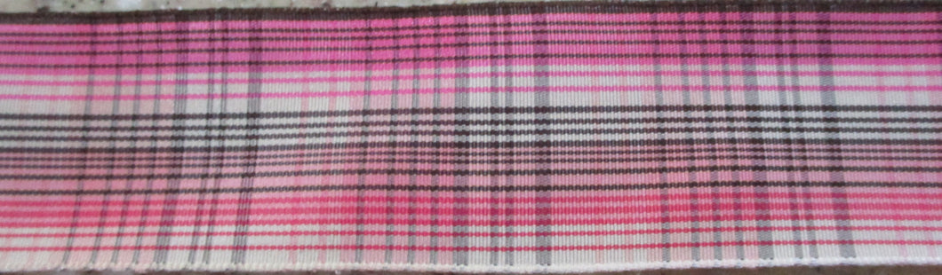 Plaid...Pinks and Brown