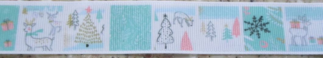 Holiday...Pastel Scenes 1 Inch