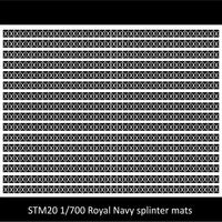 SM20 Royal Navy splinter mats