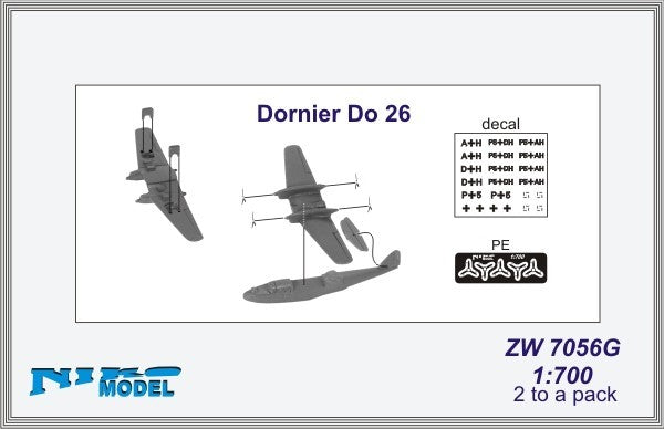 Dornier Do 26 flying boat x 2