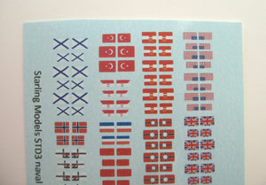 Naval flags and ensigns 1914-45