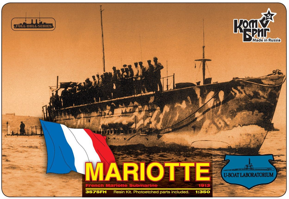 French submarine Mariotte 1913