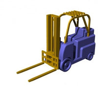 US Navy forklift trucks early type