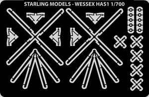 Wessex HAS1 helicopter etched detail set