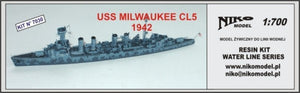 US Milwaukee CL-5 1942