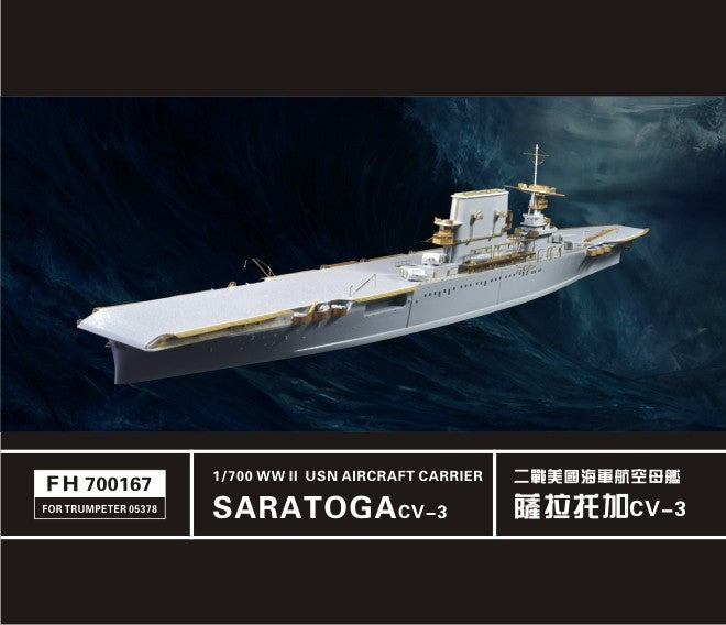 Upgrade set for USS Saratoga (Trumpeter)