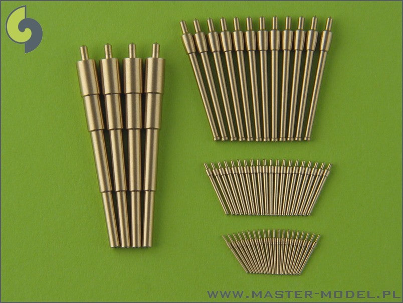 Imperial Russian battleship Borodino 1/350 brass barrels set
