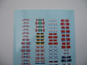 Modern naval flags and ensigns 1/350