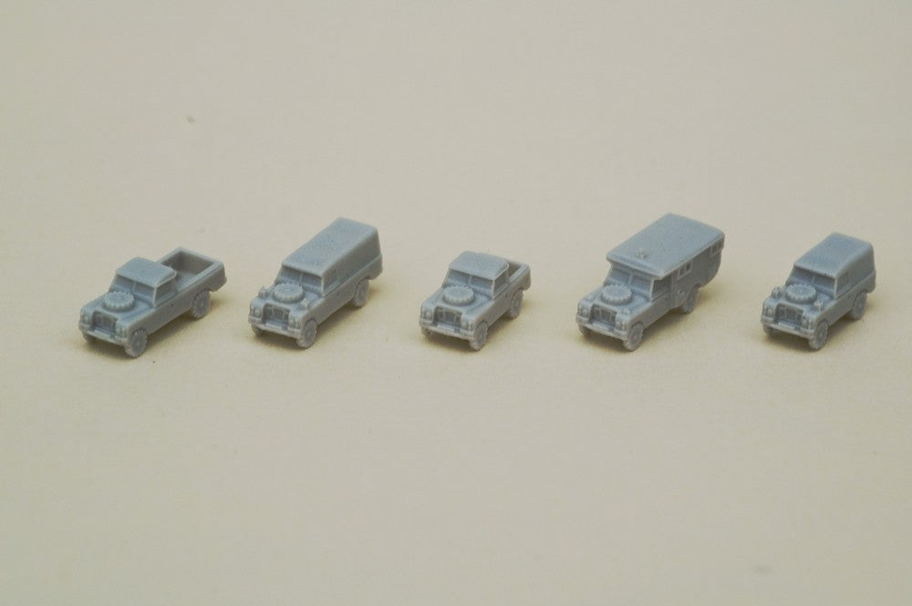 British Army landrover set