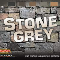 Stone grey paint set