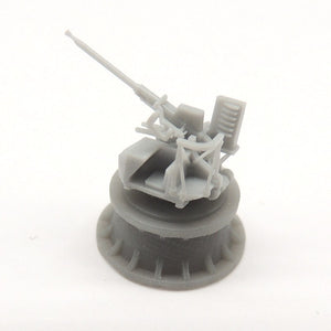 40mm Bofors gun on Mk.VII single mount (x4)