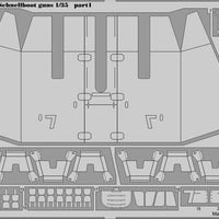 Armamnet detail set for S-100 1/35 Schnellboot