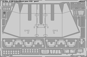 Armament detail set for Italeri S-100 1/35 Schnellboot