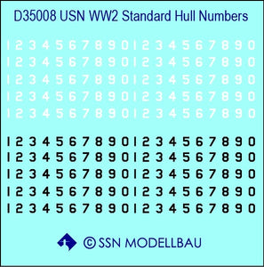 USN WWII standard hull numbers