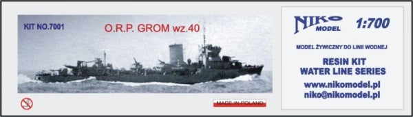 ORP Grom 1940