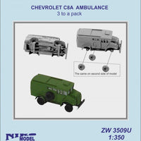 Chevrolet CA8 ambulance