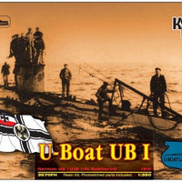 German submarine UB1 1915