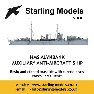 HMS Alynbank, auxiliary anti-aircraft ship 1940