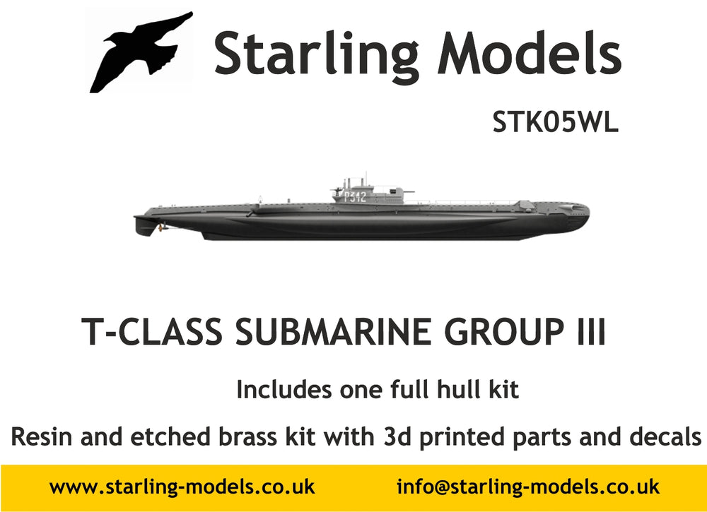 T Class submarine Group III full hull version