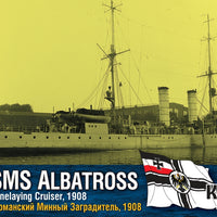 SMS Albatross minelaying cruiser 1908