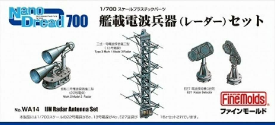 IJN Radar Antenna Set
