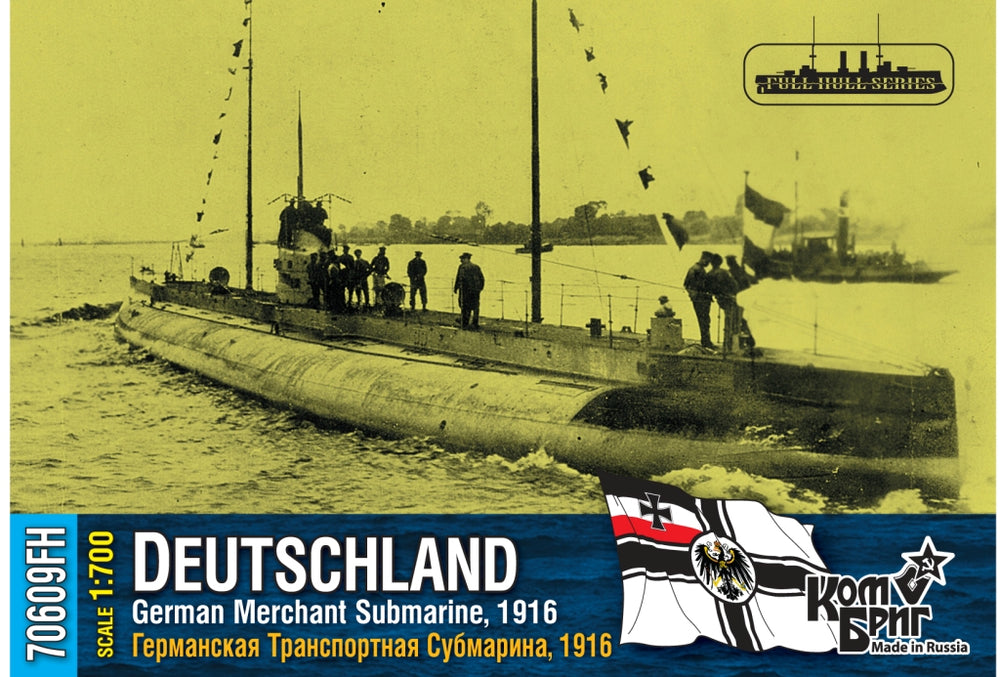 German merchant submarine Deutschland 1916
