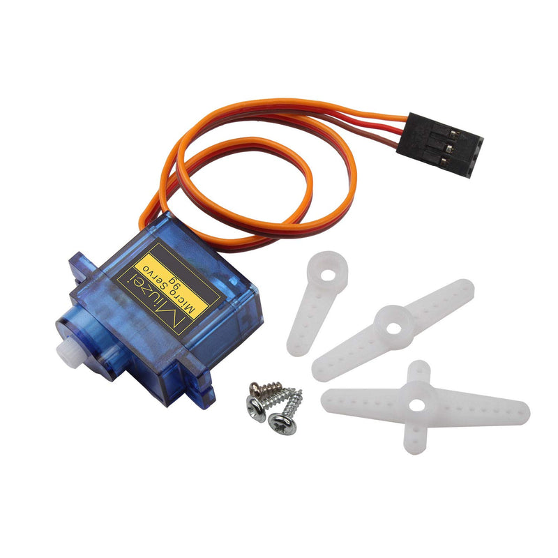 Miuze SG90 9G Servo Motor Kit for RC Robot Arm, Helicopter, Airplane Remote Control