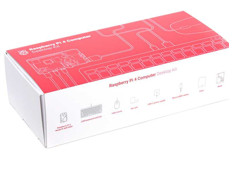 Raspberry Pi 4 Desktop Kit US