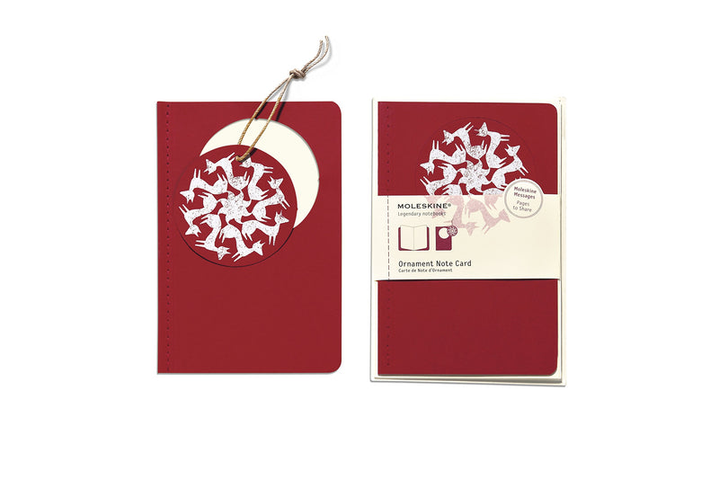 Moleskine Foxtrot Ornament Note Card