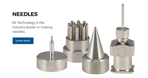 Needles - DL Technology is the industry leader in making needles. Click to learn more.