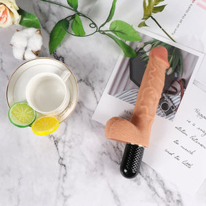 10 Frequency Handheld Electric Vibrating Dildo