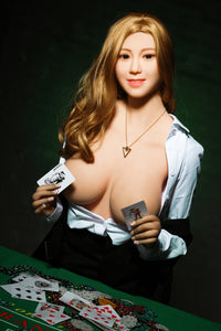 Casino Dealer 5'5 Realistic Big Boobs Doll