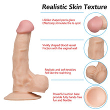 Load image into Gallery viewer, 2 Size Lifelike Dildo 7.28in / 9in