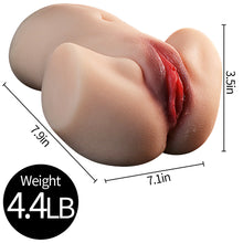 Charger l'image dans la galerie, 3D Realistic Ass Doll Male Masturbator with Lifelike Lips
